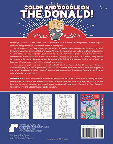 The Donald Trump Coloring Book The Ultimate Tribute To The Next