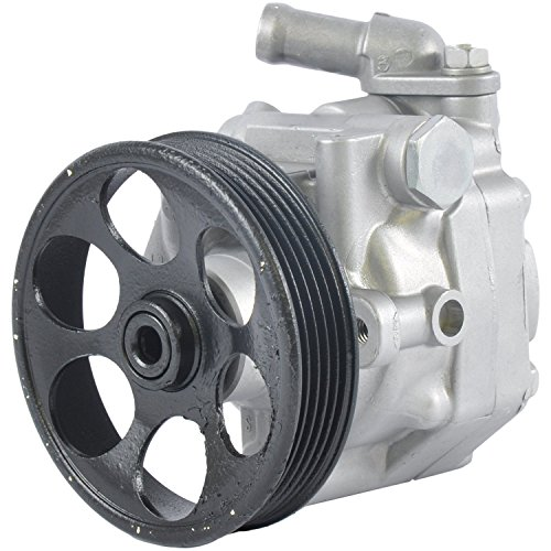 power steering pump with pulley - 2