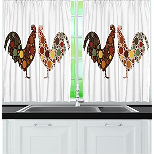 Farm Kitchen Curtains: Amazon.com