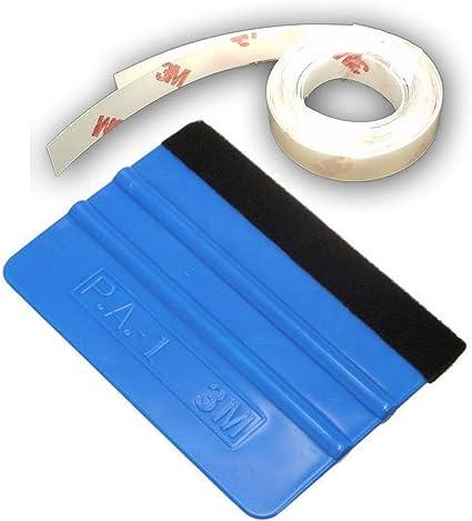 3M 8pcs Door Edge Scratch Guard Trim Protector CLEAR Strip Scotchgard Sticker