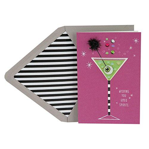 Hallmark Signature Halloween Card (Good Spirits Martini)