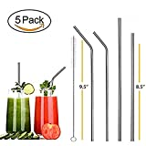 Best Reusable Stainless Steel Metal Drinking Straws Enhance Your Drinking Experience Now - Are you sick and tired of spending money and trowing away plastic straws? - Do you have a hard time choosing the right straw size? - Are you worried ab...