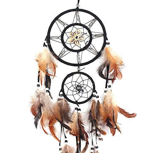 Emptystar Wall Decor - Multicolor Dreamcatcher Handmade Dream Catcher Net Hanging for Christmas, Halloween Party, Curtain, Patio, Garden, Wedding, Christmas -