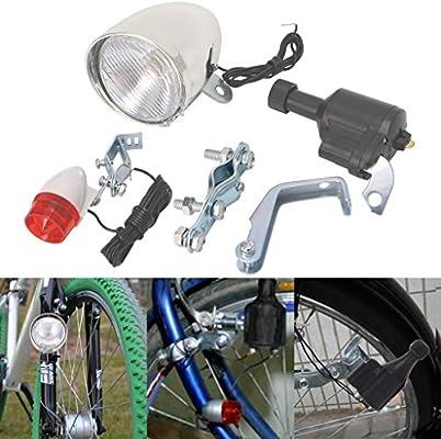 Elat Parque motorizado bicicleta fricción generador de dinamo ...