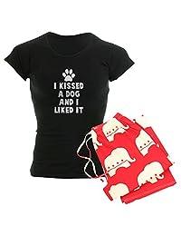 CafePress - I Kissed A Dog and I Liked I - Womens Pajama Set