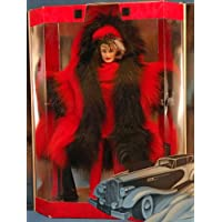 Barbie Cruella De Vil Despiadada en Red Great Villains 101 Dalmatian Collector Doll