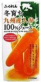 1000mlX6 this winter raised Kyushu carrot 100% juice Fukuren