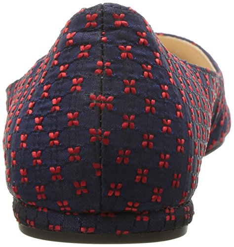 Nine Navy West Fabric Speakup Women's Fabric Red vvqZr