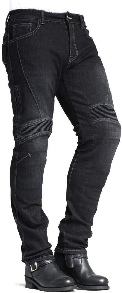 MAXLER JEAN Men/'s Bike Motorcycle Motorbike Kevlar Jeans 1614 for summer Black 42