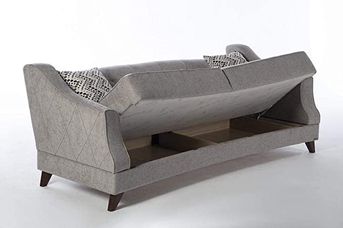 Amazon.com: Istikbal Siena Sofa Valencia Grey: Kitchen & Dining