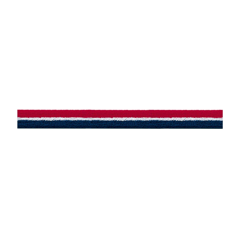 S.I.C. ストライプパイルテープ 10mm C/#16 スカーレット×ホワイト×ナイトブルー(トリコロールカラー) 1反(30m) SIC-1201   B07LG2MQ36