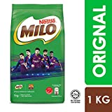Nestle Malaysia Milo 2.2 Pound (1kg) Beverage Mix Chocolate Malt Soft Refill Pack Fortified Powder Energy Cocoa Drink