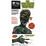 """Amscan Car Window Zombie Grabbers Halloween Trick or Treat Party Decoration, Multicolor, 24"""" x 12"""""""