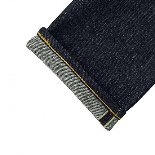 Edwin - Jeans - Tapered - Homme bleu Rainbow Selvage Japan Den Taille unique