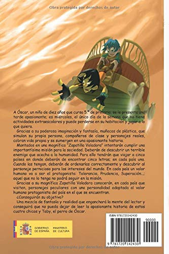 La zapatilla voladora (Spanish Edition): Manuel Muñoz Vico: 9781720142430: Amazon.com: Books
