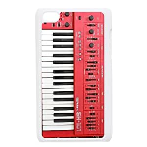 Synthesizer funda iPod Touch 4 caja funda del teléfono celular blanco cubierta de la caja funda EEECBCAAJ06790