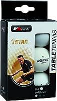 V3TEC Tischtennisschläger TT Ball 1 Stern weiß