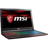 MSI GP63 Leopard-013 120Hz 3ms 94%NTSC Performance Gaming Laptop i7-8750H (6 cores) GTX 1060 6G, 16GB 128GB + 1TB, 15.6