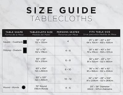 DII 100% Cotton Summer Table Tops