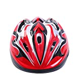 Tokou Children Bike Helmet Cycling Helmet Light Weight Helmet Specialized for Boys and Girls Riding Safety Red