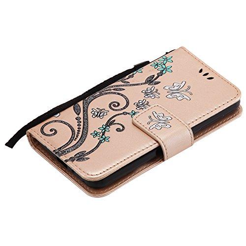 Di Y3ii Huawei Chiusura Lomogo Y3ii Y3 Hoha23225 Credito Portafoglio Magnetica Con Carta Oro Per Cover Porta Custodia 2 Pelle In 1xx7zqw5