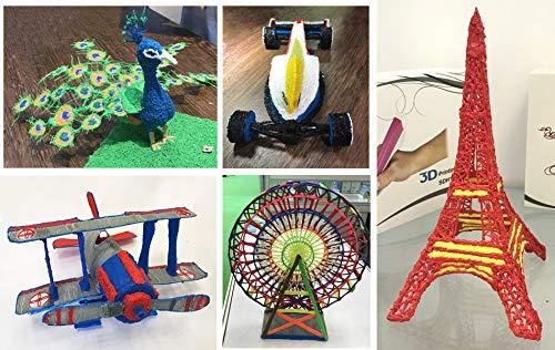 Total 300FT Aishtec 3D Pen PLA Filament Refills 1.75mm 10 Feet Each Color 30 Colors