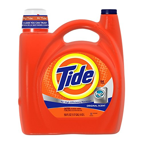 Tide He Original Scent Liquid Laundry Detergent 150 Fl Oz (Pack of 4) by Tide