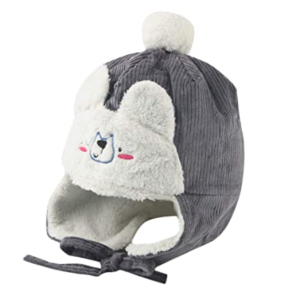 d04ea848699 Image Unavailable. Image not available for. Color  Inkach Baby Earflap Hats