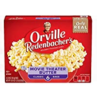 orville redenbacher's Movie Theater Butter Popping Corn Classic Bags, 19.73 oz
