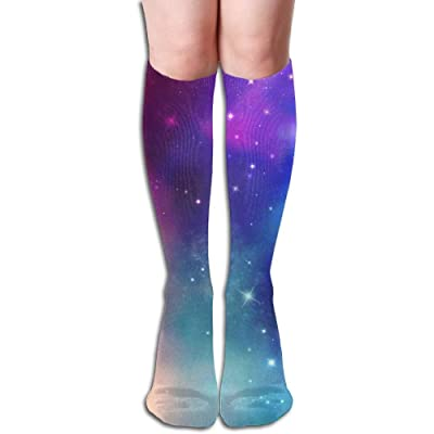 dongpujidiangongsi Sky Spots Glare Women's Fashion Knee High Socks Casual Socks 50CM: Deportes y aire libre