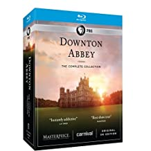 Downton Abbey: The Complete Collection [Blu-ray]^Masterpiece: Downton Abbey: The Complete Collection^Masterpiece: Downton Abbey: The Complete Collection^Masterpiece: Downton Abbey: The Complete Collection