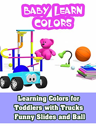 Violet Ball (Learning Colors for Toddlers with Trucks Funny Slides and Ball)