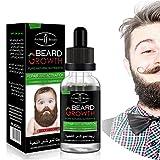 Yiwa Men's Natural Organic Beard Essential Oil Moisturizing Fast Growth Nourishing Oil