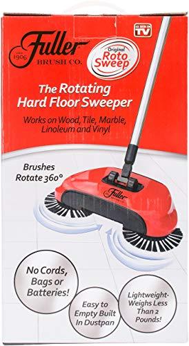 Roto Sweep By Fuller Brush Original Cordless Hard Floor