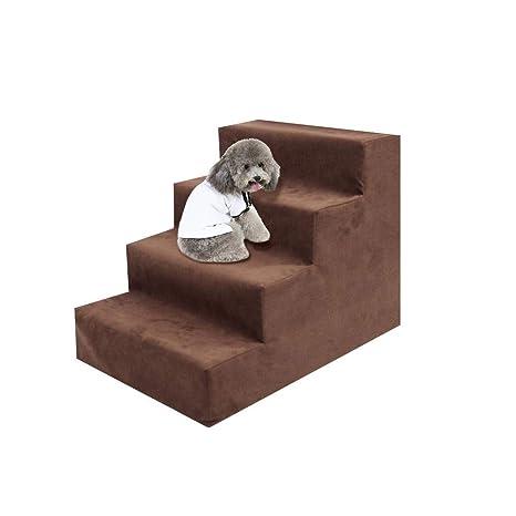 Escaleras para Peluches para Perros, Fácil Subir Escaleras En Polar, Sofá Superior para Mascotas