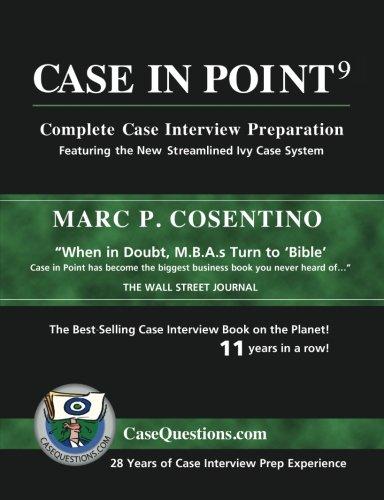 De Las Cases (Case in Point 9: Complete Case Interview Preparation)