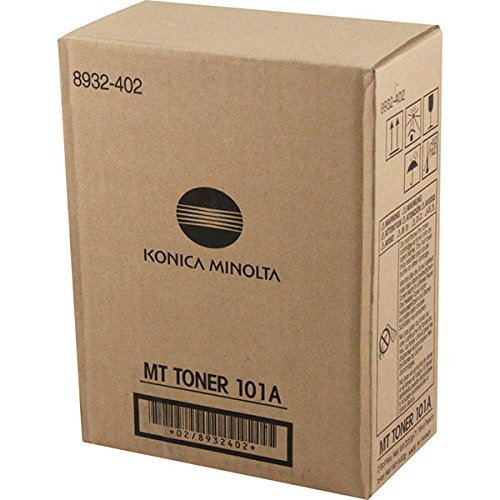 Konica-Minolta 8932-402 101A OEM Toner: Black Yields 5,500 Pages (Konica Minolta 5500)