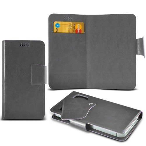 aldi-medion-life-e5001-super-thin-suction-pad-wallet-case-cover-grey-plus-free-gift-screen-protector