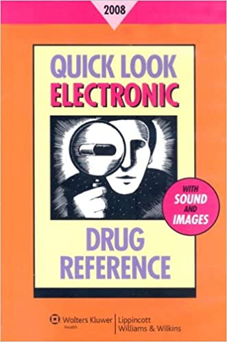 Read Quick Look Electronic Drug Reference 2008 PDF