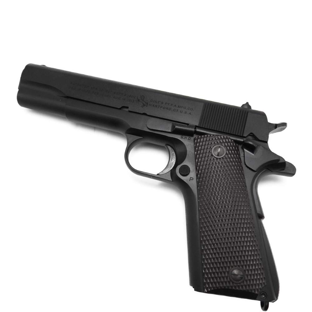 CAW Mule コルト M1911A1 発火モデルガン 発火カート 7発 ダミーカート8発付 銃 B07PKXVQKZ