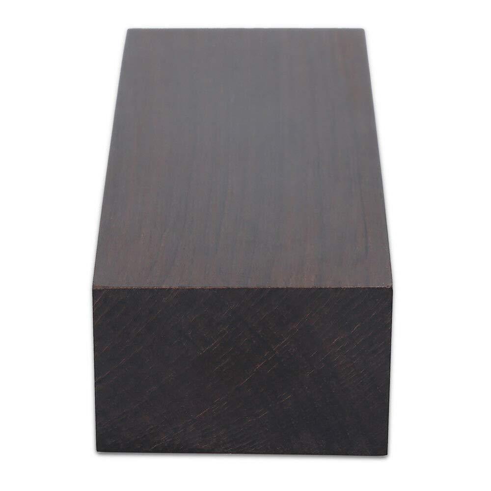 Mango de lujo de /ébano africano Material 125 40 25 mm Repuesto de insectos Mango de madera antienvejecimiento Piezas