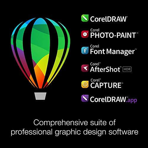 CorelDRAW Graphics Suite 2020 | Graphic Design, Photo, and Vector Illustration Software | Education Edition [PC Disc] WeeklyReviewer