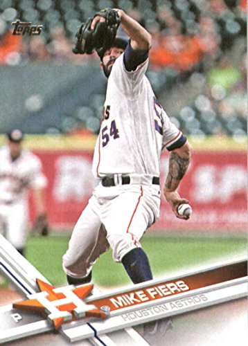 2017 Topps Series 2 #496 Mike Fiers Houston Astros Baseball Card
