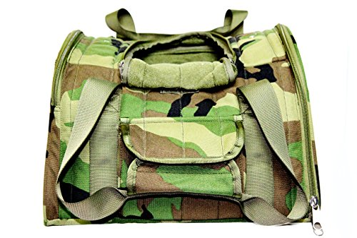 CAMO Backpack Dog Carrier pounds