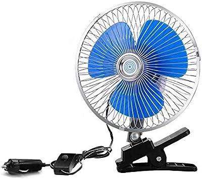 Color : Truck 8 inch Fan XIAOF-FEN Car Truck Mini Fan 12v 6 Inch 8 Inch 10 Inch Strong Wind Car Interior Electric Fan USB Fan