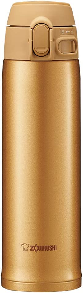 Zojirushi Stainless Steel Vacuum Insulated Mug, 20-Ounce, Honey Gold