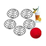 JXULE Milkshake Protein Blender,Wire Mixer Mixing Ball For Shaker,Replacement Wire Whisk 5PCS