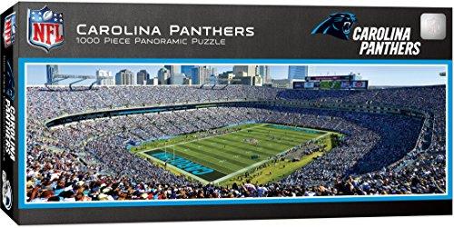 MasterPieces NFL Carolina Panthers 1000 Piece Stadium Panoramic Jigsaw Puzzle