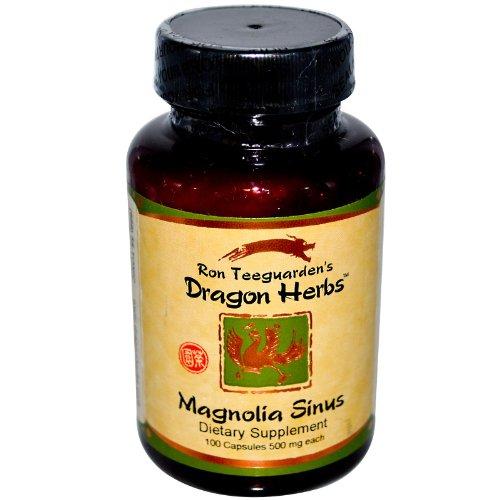 Cheap Dragon Herbs Magnolia Sinus 500 mg 100 Veggie Caps