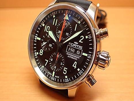 cede61928c Amazon   フォルティス 腕時計 FORTIS Flieger Pro Chronographフリーガープロ クロノグラフ 43mm Ref. 705.21.11   レディース腕時計   腕時計 通販